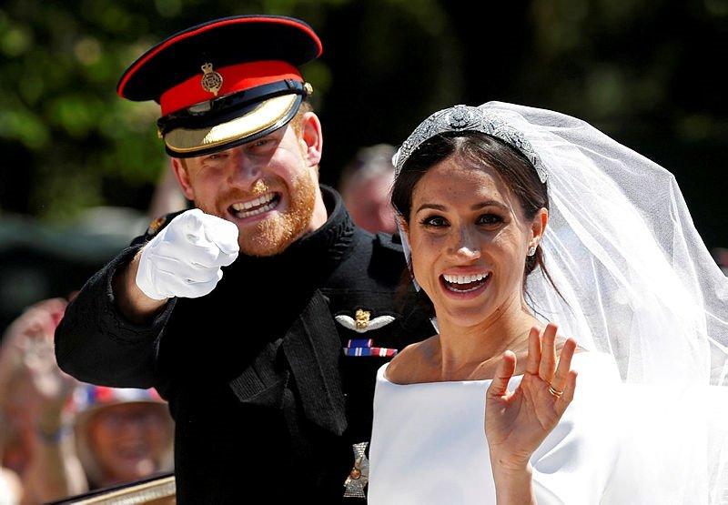 Prens Harry ile Meghan Markle'nin düğününe Burak Öymen de katıldı