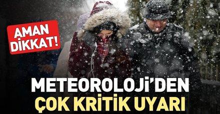 Son dakika: Meteoroloji'den çok kritik uyarılar! İşte yurt genelinde hava durumu raporu...