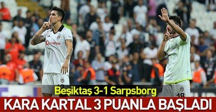 Kara Kartal 3 puanla başladı( MS: Beşiktaş 3-1 Sarpsborg)