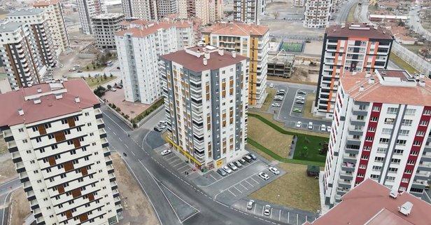 Kayseri'de 140 metrekare daire icradan satılık