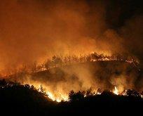 Hatay'daki yangın yeniden alevlendi