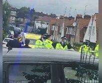 İngiltere'de 11 polis yaralandı