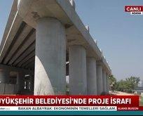 Adana Büyükşehir Belediyesi'nden kaynak israfı proje!
