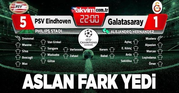 Galatasaray farklı mağlup!