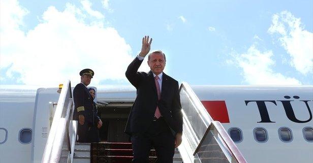 Erdoğan'ın kritik ziyareti öncesi önemli açıklama