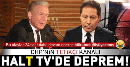 Halk TVde deprem sürüyor