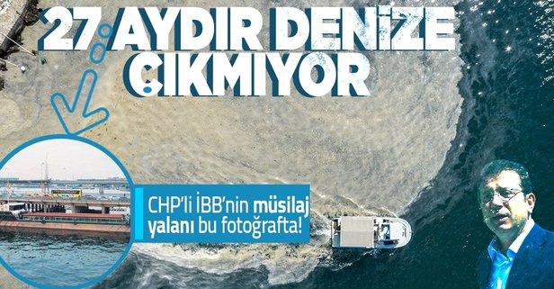 CHP'li İBB'nin deniz salyası yalanı