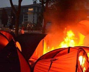 Gezide çadırları yakın emrini vermişti! Flaş karar