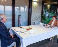 Akşener ve Kılıçdaroğlu iftarda buluştu