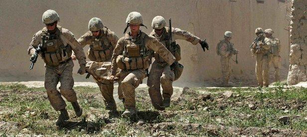 Amerikan askeri konvoyuna saldırı