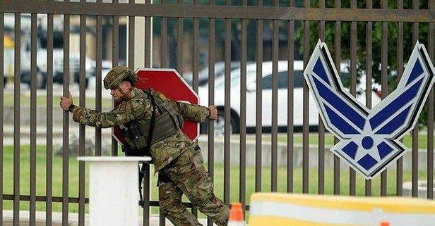 ABD'de askeri üsler tecrit altına alındı