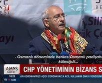 Bizans artıklarına CHP hürmeti...
