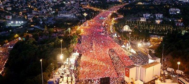 Kurtulmuş: 6 milyon kişi katıldı