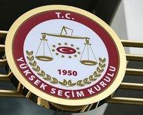 YSK: Suç duyurusu HSK'ya gönderilmiştir