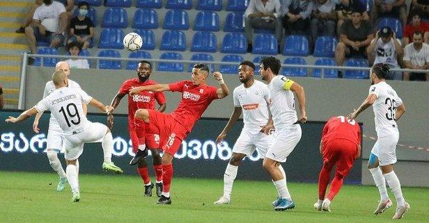 Sivasspor, Dinamo Batumi'yi 2 golle geçti!