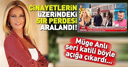 Müge Anlı Mehmet Ali Çayıroğlunun işlediği cinayetleri açığa çıkardı!