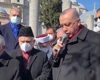 Başkan Erdoğan, Kur'an okudu