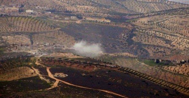 YPGli hainlere bomba yağdı