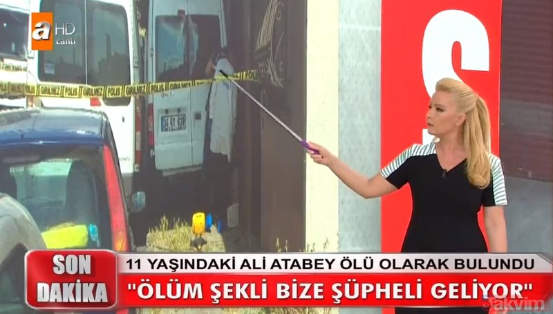 Müge Anlı canlı yayında 11 yaşındaki Ali Atabey hakkında korkunç gerçekler ortaya çıktı!