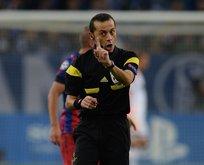 Chelsea-Barcelona maçını Cüneyt Çakır yönetecek