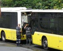 Üsküdar'da metrobüs kazası! Yaralılar var...