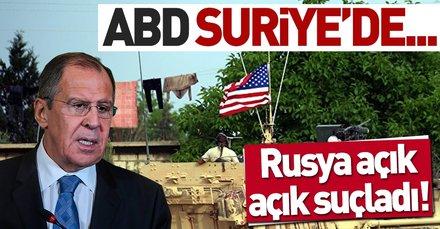 Lavrov: ABD, Suriye'de DAEŞ'i bahane ederek varlığını sürdürüyor