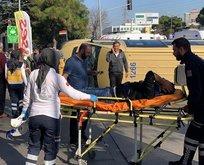 İstanbul'da minibüs devrildi, çok sayıda yaralı var