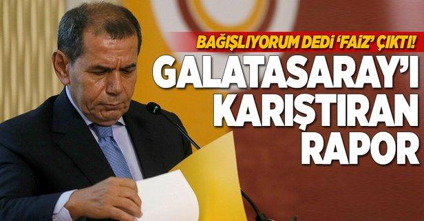 Dursun Özbek'in bağışları faiz çıktı!