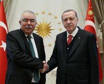 Cumhurbaşkanı Erdoğan Raşit Dostumu kabul etti