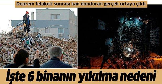 6 binanın yıkılma nedeni ortaya çıktı!