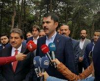 Çevre Bakanı: İstanbulun yeşil alana ihtiyacı var