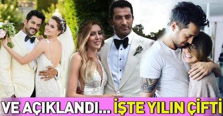Sinem Kobal ve Kenan İmirzalıoğlu 'Sevgililer Gününün sembol çifti' seçildi