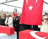 PKK'nın şehit ettiği işçilere son görev