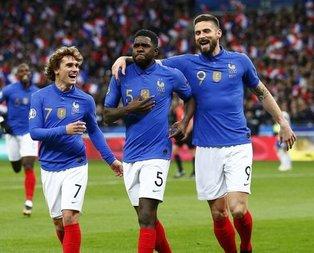 Fransa'nın Türkiye kadrosu açıklandı