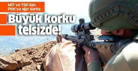 MİT ve TSK'dan PKK'ya ağır darbe! Telsiz konuşmalarına yansıdı
