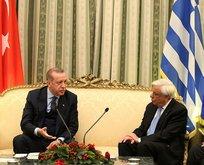 Erdoğan ile Pavlopulos arasında Lozan diyaloğu