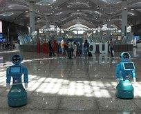 Türkiye'de bir ilk! Robotlar göreve başladı