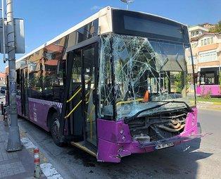 Avcılar'da belediye otobüsü dehşet saçtı 5 yaralı