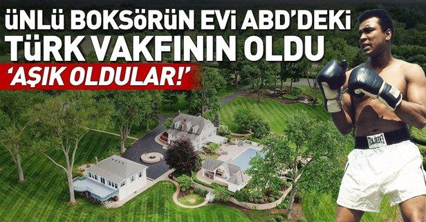 Muhammed Ali'nin çiftlik evi Türken Vakfı'nın oldu