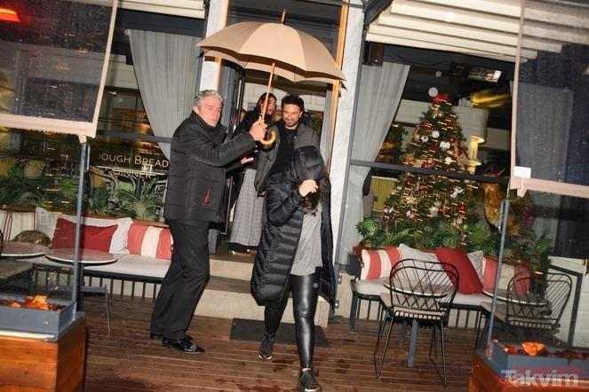 Tarkan ve eşi Pınar Tevetoğlu bebekten sonra ilk kez görüntülendi!