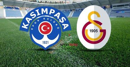 Kasımpaşa - Galatasaray maçı saat kaçta? Kasımpaşa GS maçı ne zaman, hangi kanalda?