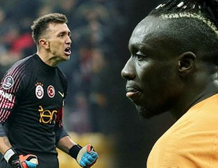 Galatasaray'da Mbaye Diagne Fernando Muslera'nın gerisinde kaldı