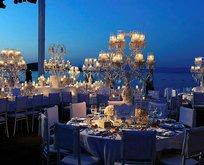 Restoran görünümlü düğün salonu!