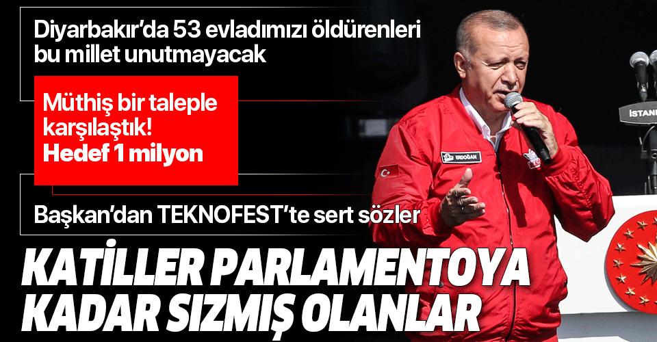 Son dakika: Başkan Erdoğan'dan TEKNOFEST'te önemli açıklamalar