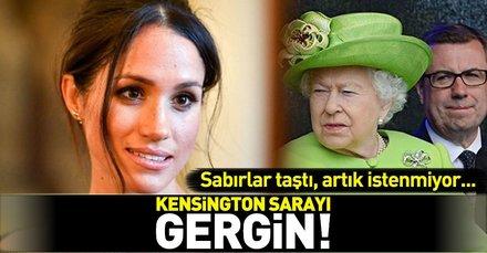 Meghan Markle'a Kensington Sarayı'ndan sert uyarı: Daha az Hollywood yıldızı gibi giyin!