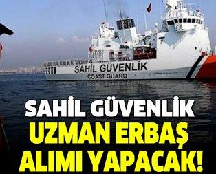 Sahil Güvenlik Komutanlığı uzman erbaş alımı yapacak!