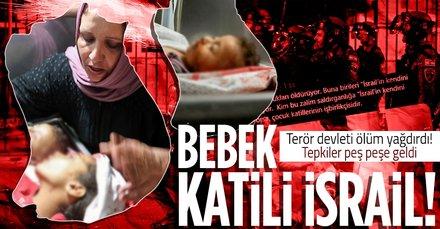 Bebek katili İsrail!