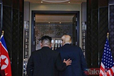Trump ile Kim Jong Un buluşmasında menüde neler vardı?