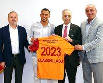 Omar Elabdellaoui Galatasaray'a imzayı attı
