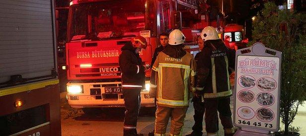 Bursa'da iş yerindeki yangın can aldı